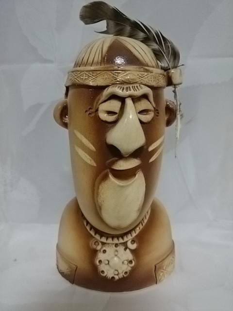 "Копилка-прикол ""Индеец"", керамика, 24 см."
