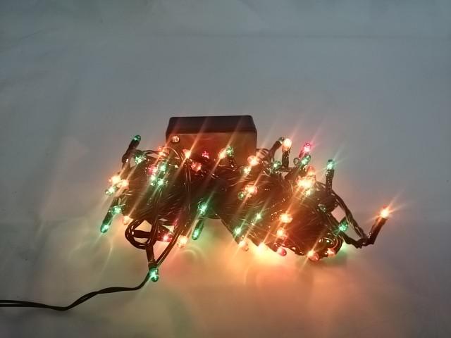 Гирлянда электрическая для дома, 4,5 метра, 100 цветных ламп, 8 режимов..