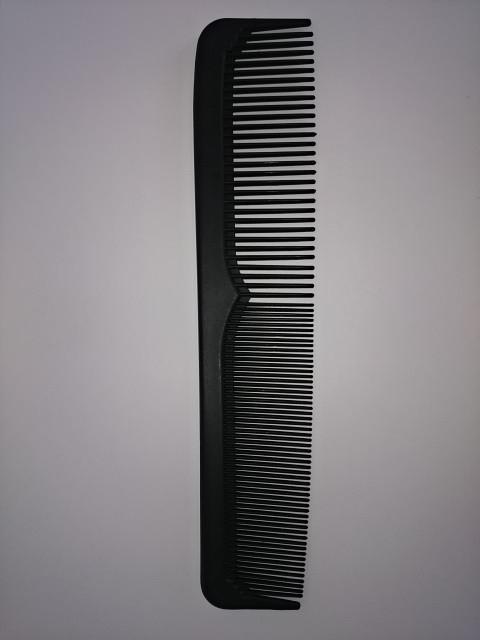Расчёска комбинированная, 22 см, пластик.