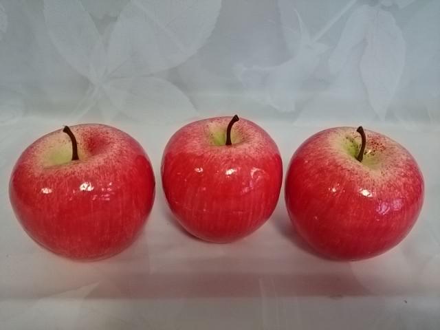 """Муляж """"Яблоко"""" 7 см (цена за 10 штук)."""