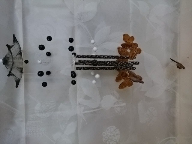 """Музыка ветра """"Бабочки"""", 60 см, металл, пластик."""