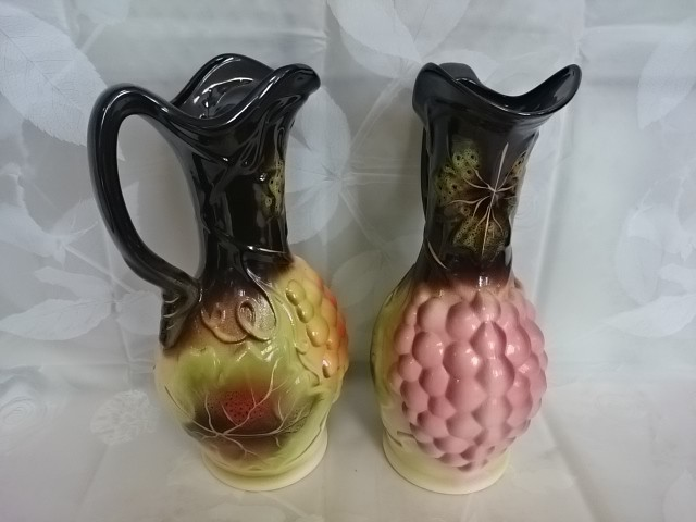 "Ваза-Кувшин ""Виноград"" 31 см., керамика"
