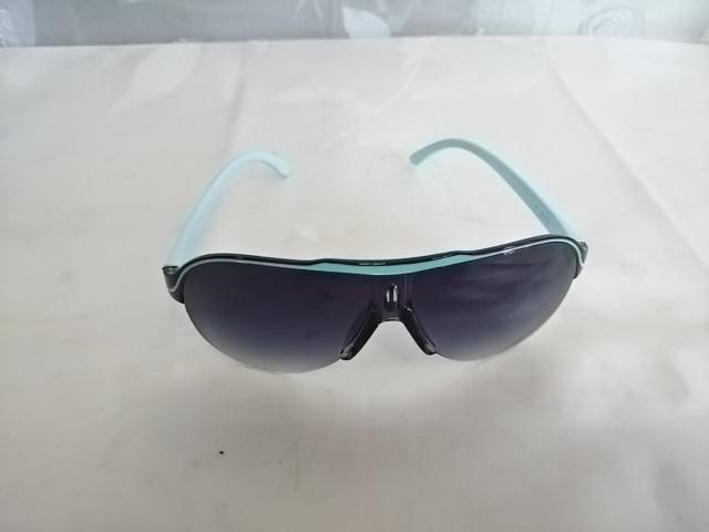 """Солнцезащитные очки мужские """"СПОРТ"""" с голубой дужкой и заушниками"""
