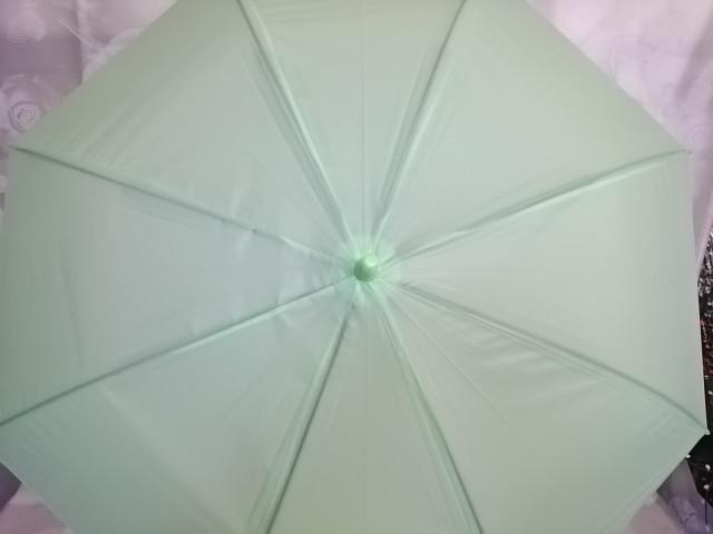 Зонт-трость подростковый, ручка-крюк, полуавтомат, 110 см, 8 спиц, пластик, металл.