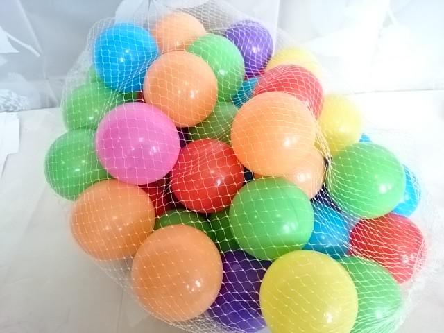 Мячики для сухого бассейна, 50 штук.