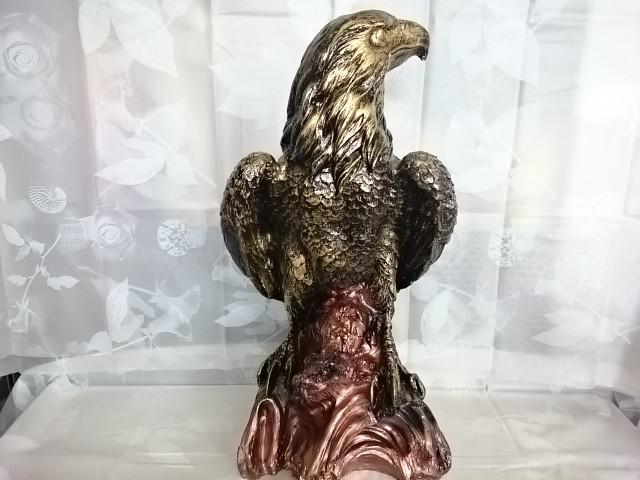"Сувенир ""Орёл"" бронза, 64 х 30 см, гипс."