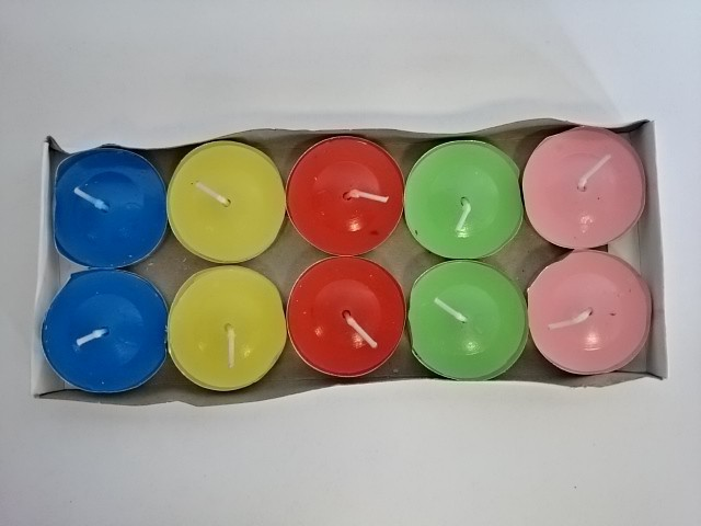 Набор из 10 свечей в гильзе d=3,5 см.