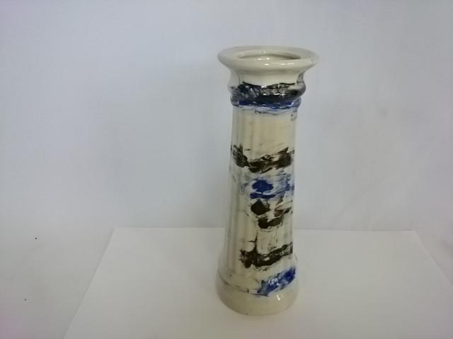 Ваза малая Колонна, 18 х 6 см, керамика, мрамор.