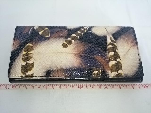 Кошелек женский 19*9 см, магнитная застёжка, 5 отделений, с отделениями под визитки, эко-кожа, металлическое отделение под мелочь снаружи.