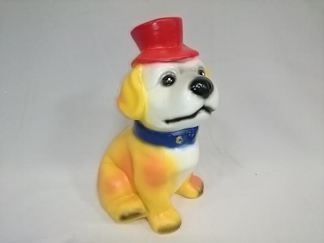Копилка Собака в шляпе, 26 см, гипс.