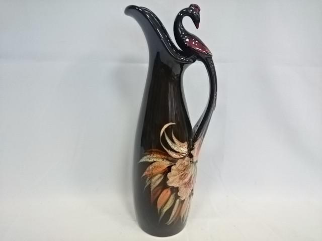 """Ваза-Кувшин """"Павлин"""", керамика, 40 см."""