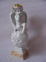 """Сувенир """"Ангел на шаре"""" гипс, 37 см."""