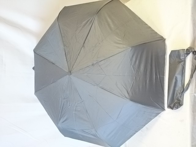 Зонт женский полуавтомат, 8 спиц, 3 сложения, однотонный.