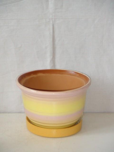 Горшок д/цветов керамический 0,4 л.