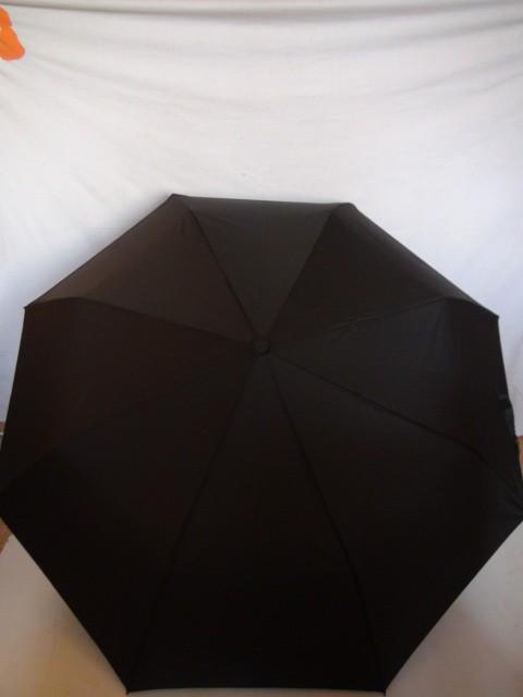 Зонт мужской  полуавтомат, D=100 см.,  8 спиц, полиэстер, пластик, металл, прямая ручка