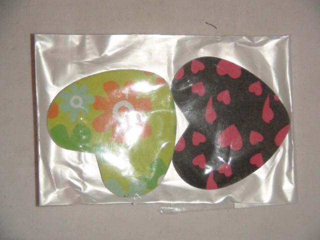 Набор пилок для ногтей в упаковке 2 штуки 6*5 см.. пластик