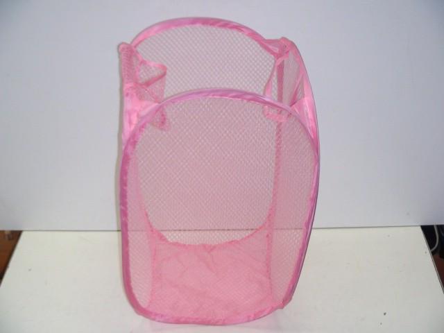 Мешок для вещей, ткань, 36*36*58 розовый