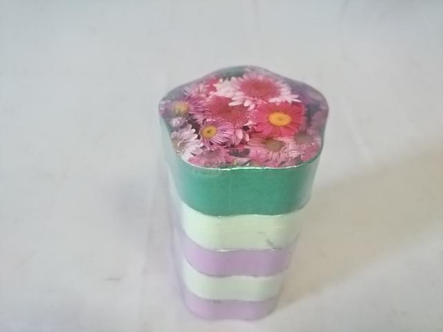 "Полотенце прессованное ""цветок"", 31*68 см, цена за 5 штук."