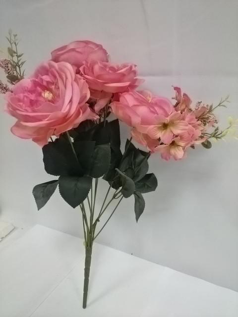 Букет пионов флористических, 48 см, 1 штука.