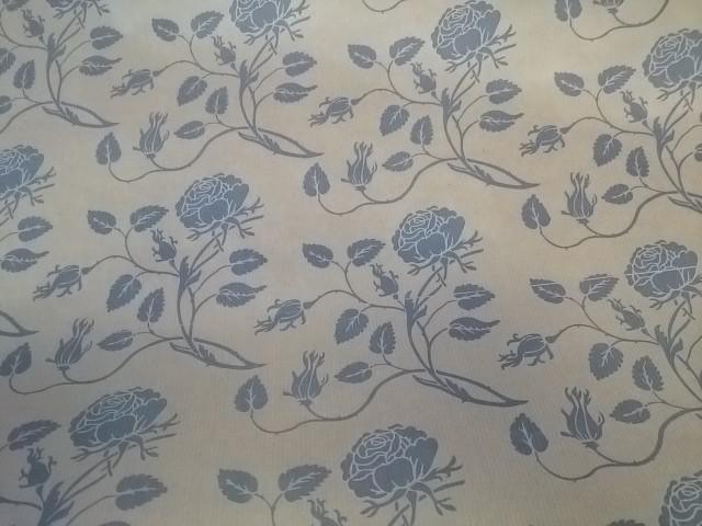 """Бумага """"Крафт"""" цветочная, 72 см * 10 м."""