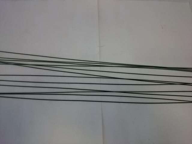 Проволока флористическая, d=1 мм, цена за 1 кг, длина 40 см.