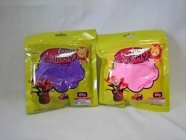 Пластилин в пакете. Цвет в ассортименте.