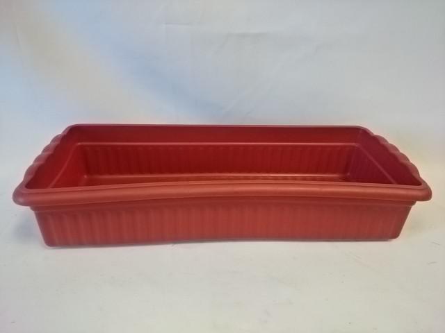 Ящик для цветов, 39*15*8 см, цвет - коричневый.