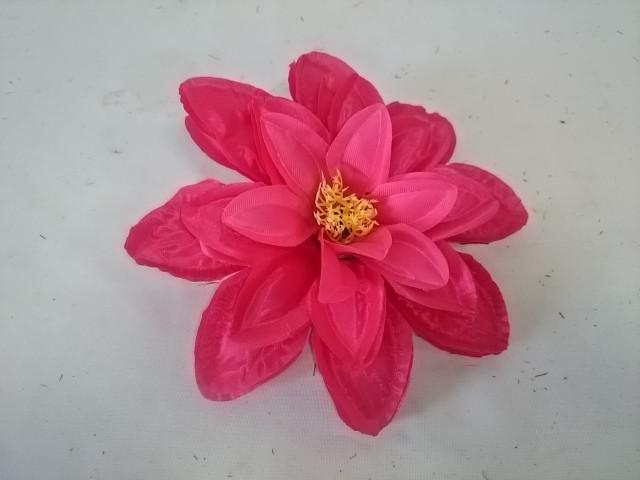 Насадка георгина атласного, D=16 см, 1 штука, цвет - малиновый.