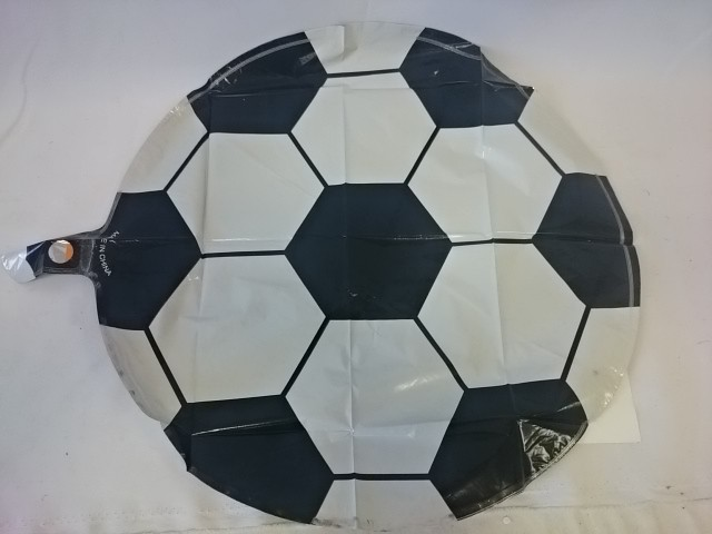 """Шар фольгированный """"Футбольный мяч"""", 45 см, 1 штука."""