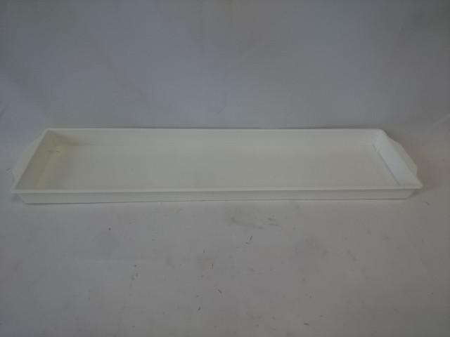 Поддон для оазиса, 48*12 см, белый.