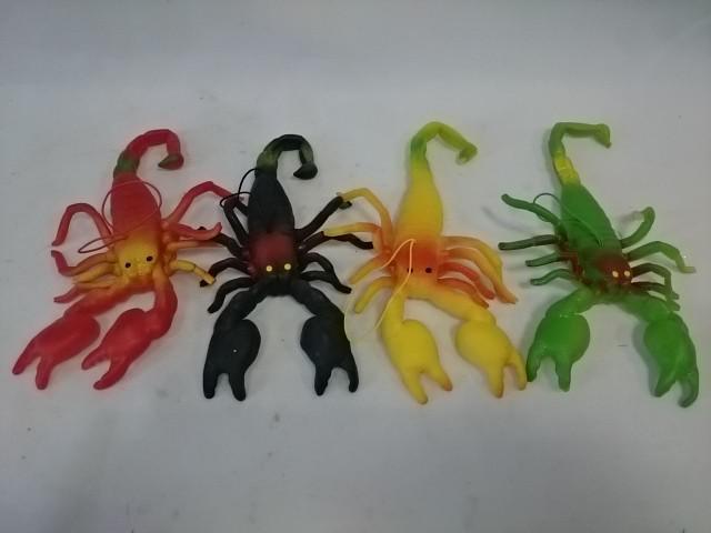 """Игрушка резиновая """"скорпион"""", 18*10 см, цена за 1 штуку."""
