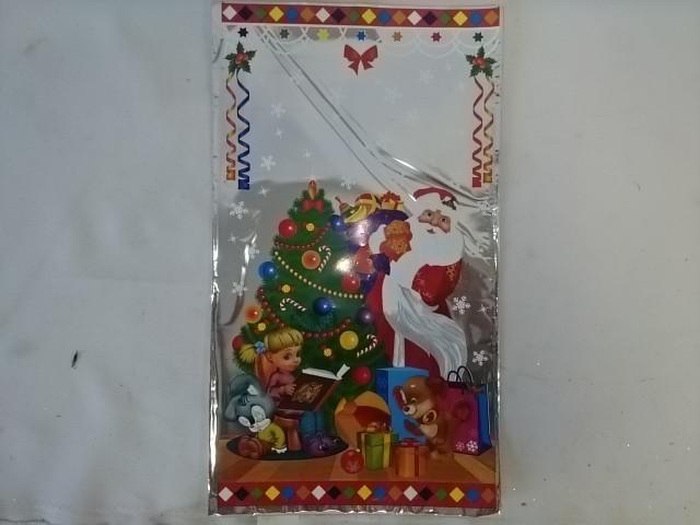 Пакет Новогодний, 20*35 см, п/п мет., цена за 1 штуку.