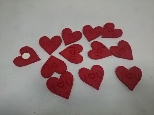 Сердечки 3,5*3,5 см, цена за 12 штук.