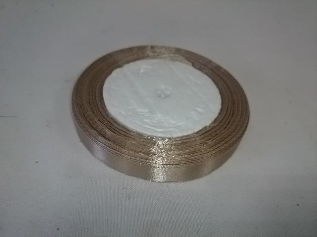 Лента тканная атласная, 12 мм * 25 ярдов.