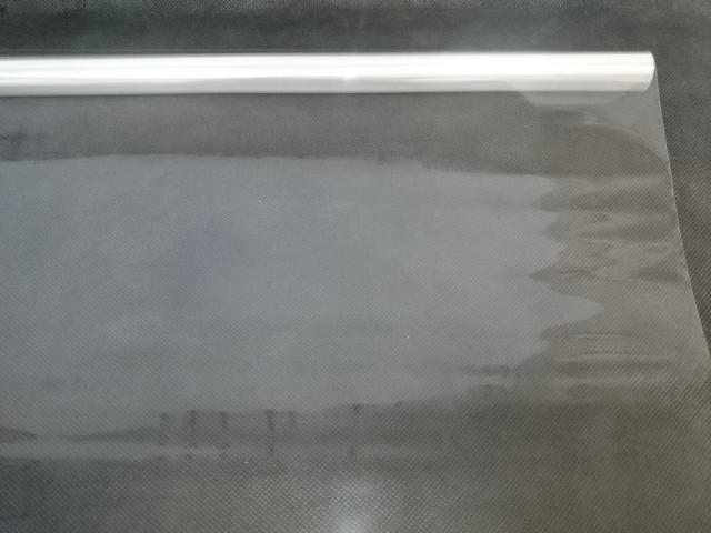 Плёнка прозрачная 90 см, 200 гр, 40 мкр, 6,2 м в рулоне.