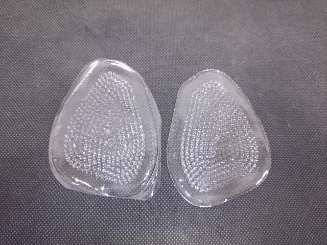Полустельки для обуви силиконовые, 9,5*7 см.