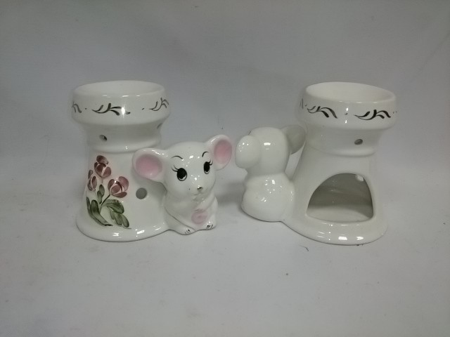 "Аромалампа ""Мышонок"", керамика, 9,5*11 см."