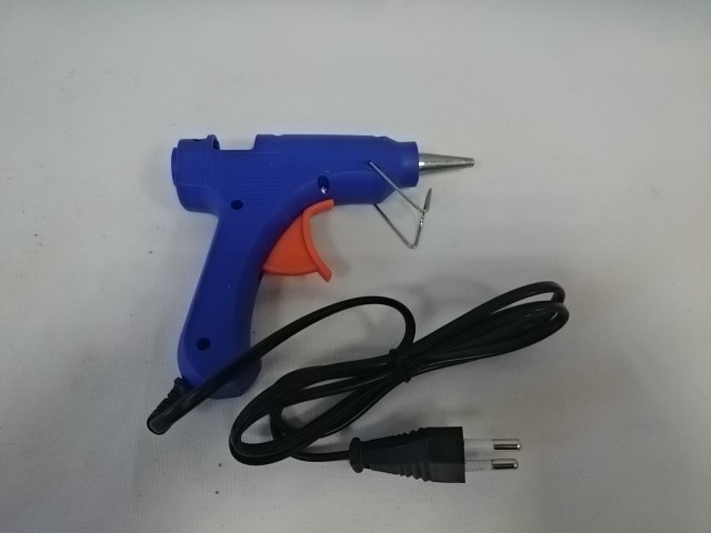 Пистолет клеевой, 13,5*11 см, 20Вт, 220В.