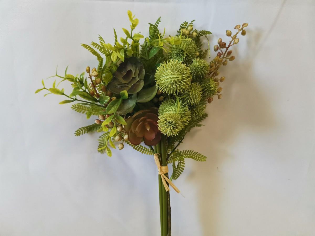 Букет флористической травы из 4 составляющих, 40 см.