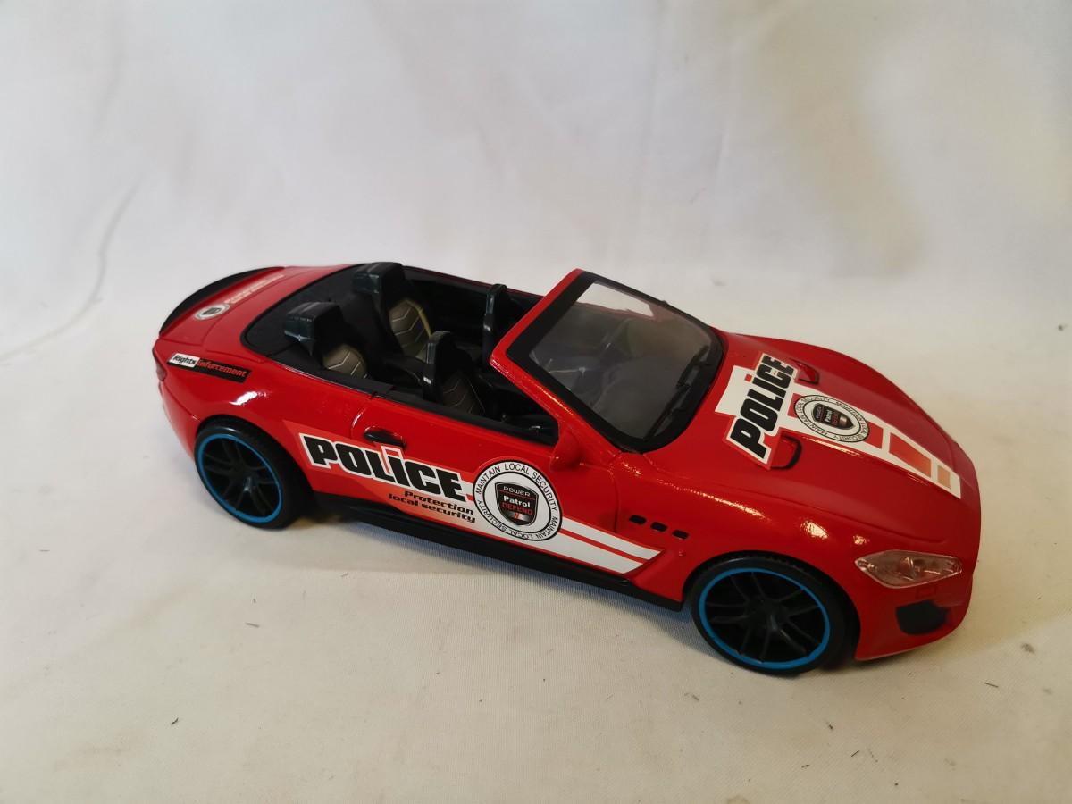 """Машина """"полиция"""", 27*11*7 см, цвет - красный."""