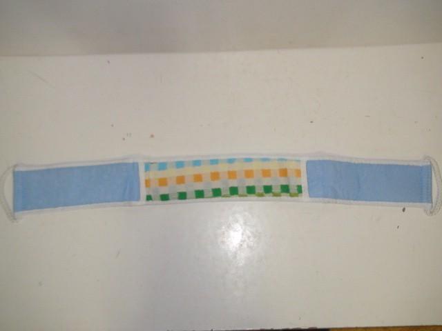 Мочалка с 2 ручками, ткань, 69*8 см.