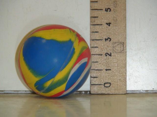 Мяч каучуковый