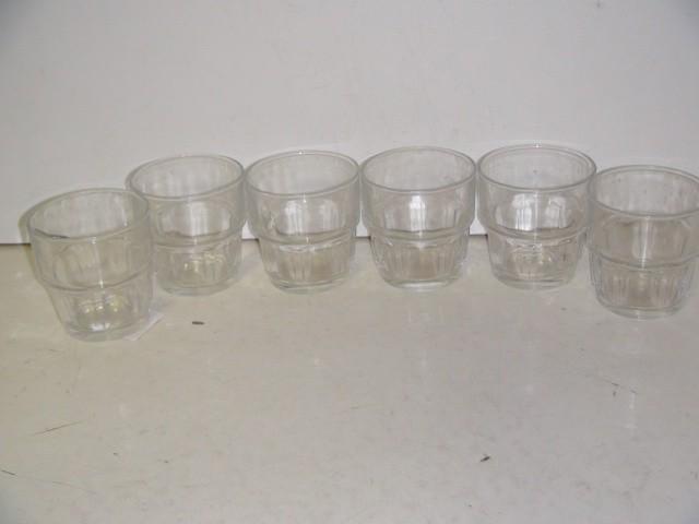 Набор стаканов 200 мл. 6 штук