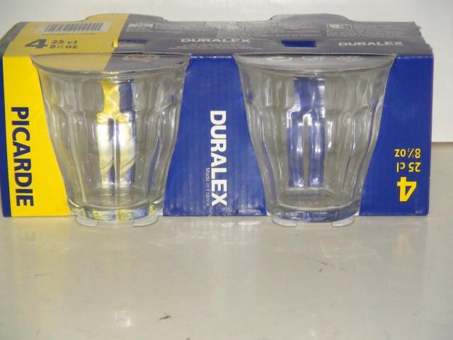 Набор стаканов 250 мл. 4 штуки
