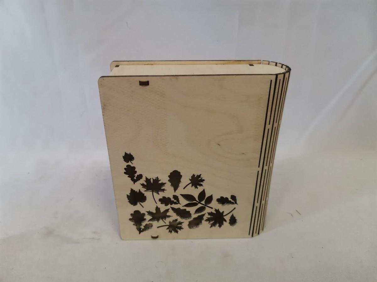 """Шкатулка """"Книга"""", 16*14*5*0,3 см."""