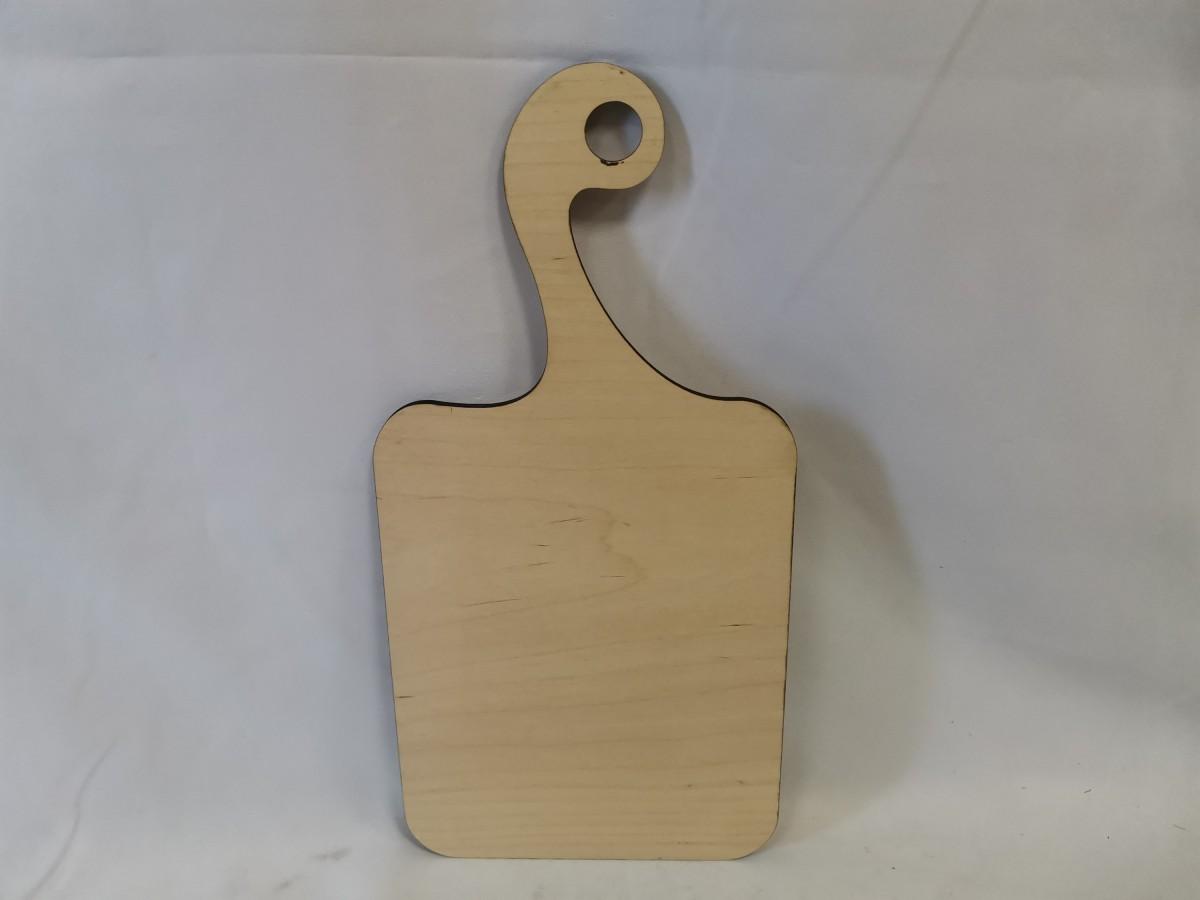 Доска разделочная деревянная, 40*20*0,6 см,