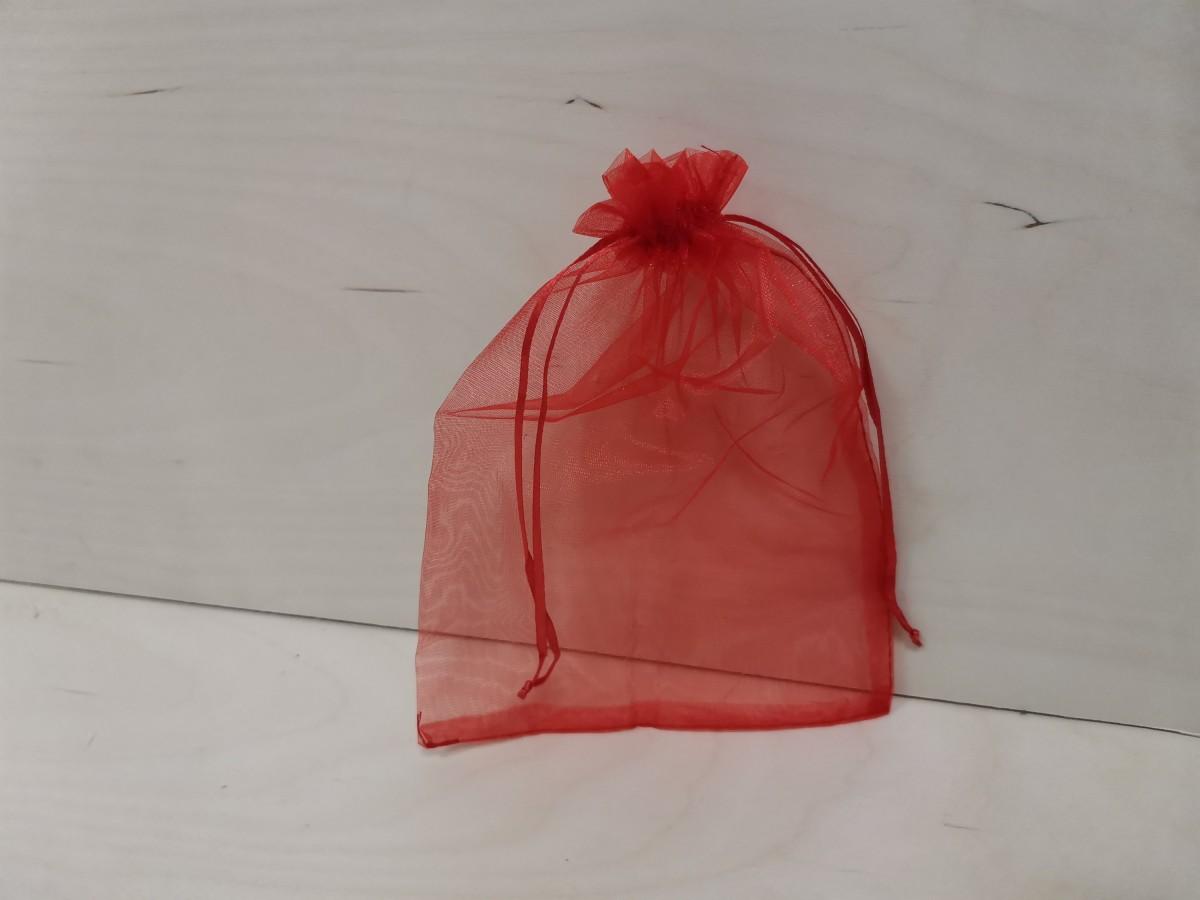 Подарочный мешочек 15*20 см, Органза, 1 шт