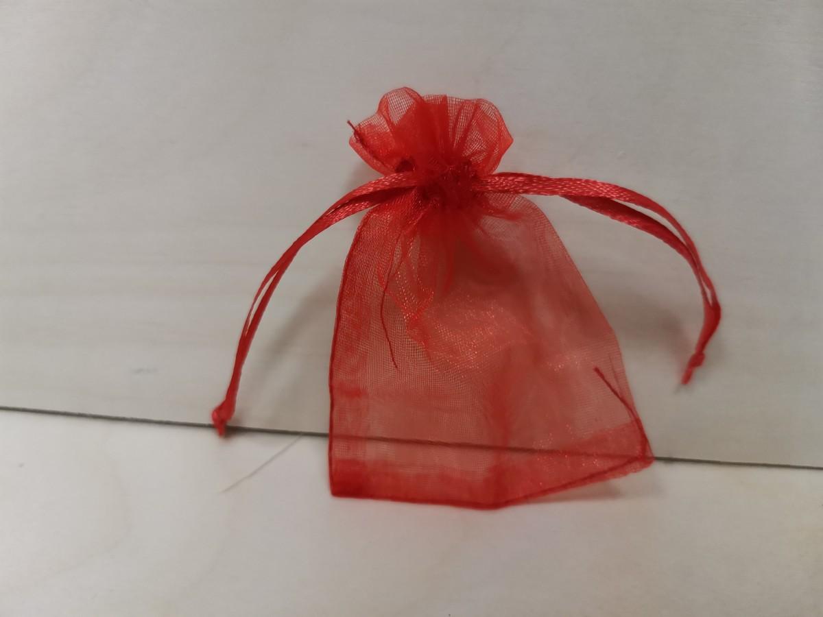 Подарочный мешочек 7*9 см, Органза, 1 шт