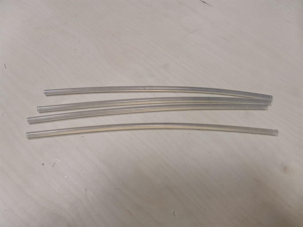 Термоклей, d-7 мм, прозрачный. ВЫПИСЫВАТЬ КРАТНО 10 ШТУКАМ.