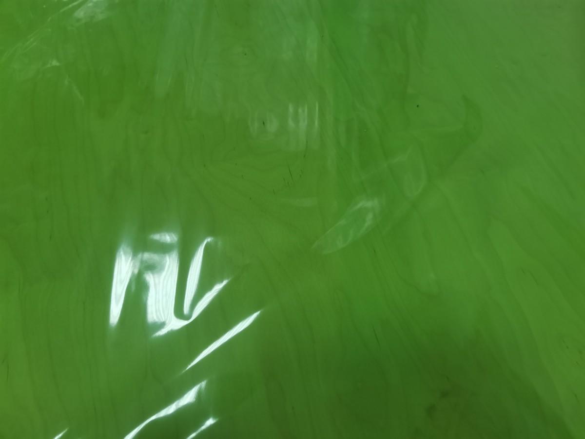 Плёнка в ролике, 40 мкр, 72 см 200гр 7,5 м, цвет - светло-зелёный.
